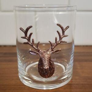 Other - Metallic deer cocktail glass